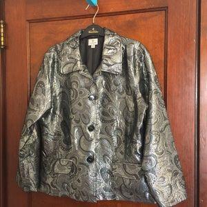 Chico's Metallic Jacket